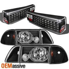 fox body tail lights tail lights for 1989 ford mustang ebay