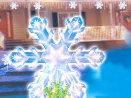 Lighted Snowflakes Outdoor by 15