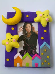felt photo frame crafting with kids pinterest felting craft