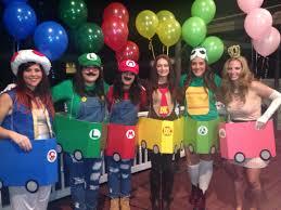 mario halloween costumes 9 co ed group halloween costumes mario