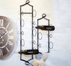 metal hanging wine rack wall mounted wine rack antique farmhouse