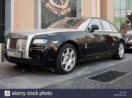 rolls royce phantom engine gleaming black and silver rolls royce phantom motor car stock