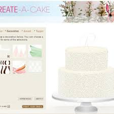 wedding cake online design my own wedding cake online brides