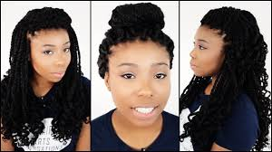 what products is best for kinky twist hairstyles on natural hair 3 hairstyles for mrs rutters perimeter crochet kinky twists