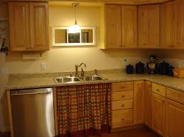 Ideas For Above Kitchen Cabinet Space Kitchen Lighting Ideas Above Sink With Modern Pattern