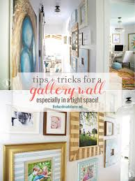Home Tips And Tricks by Tips And Tricks For A Gallery Wall In A Tight Space The