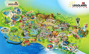 Land O Lakes Florida Map by Legoland Florida Orlando