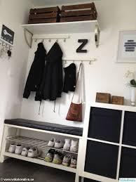 ikea hack mudroom via styleroom se ikea tjusig hallway mudroom entryway 4house