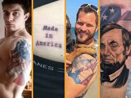 photos proud patriots show their love of country with american