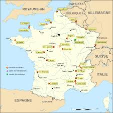 Lyon France Map Anti Nuclear Movement In France