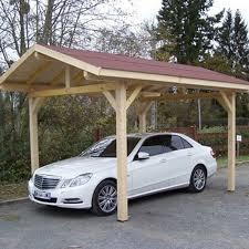 tettoia legno auto carport tettoia in legno 1 posto auto con copertura 3 00 x 3 62 mt