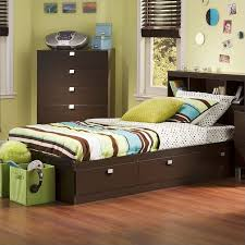 South Shore Cakao Kids Twin Storage Mates Bed Frame Only In - South shore bunk bed