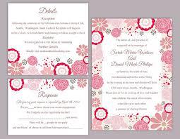 diy wedding invitation template editable wedding invitation templates free songwol