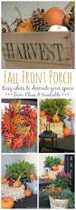 Fall Decorating Ideas For Front Porch - fall front porch ideas clean and scentsible