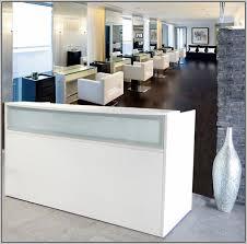 Desks Reception Desks For Salons Modern Reception Desk Salon Desk Home Design Ideas