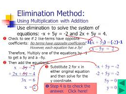 7 elimination