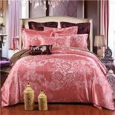 Jacquard Bed Set Papa Mima Jacquard Bedding Set Silk Cotton King Size 4pcs