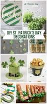 Shamrock Decorations Home Diy St Patrick U0027s Day Decorations Page 2 Of 2 Landeelu Com