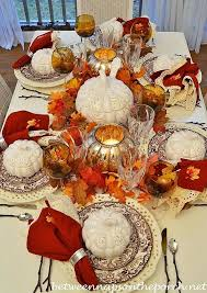 fall and thanksgiving tablescape ideas