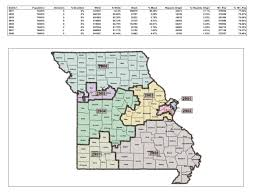 Map Of St Louis Mo Senate Version Of Redistricting Map Cuts Congressman From St
