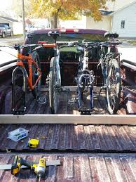 homemade truck bed need ideas about homemade pickup bed bike racks mtbr com