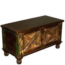 Coffee Table Chest Asian Mango Wood U0026 Brass Inlay Advance Drawer Coffee Table Chest