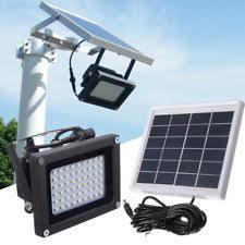 solar led flood lights outdoor solar flood light ebay