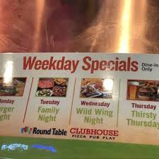 round table pizza sunrise blvd round table pizza clubhouse order food online 114 photos 50