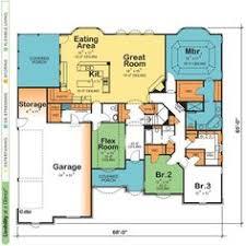 open floor house plans one story mystic retirement house plan ranch floor plan basement