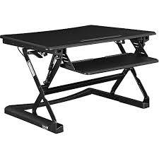 sit and stand desk platform soar interion ergonomic sit and stand desk platform