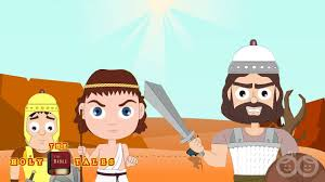 david u0027s courage i stories about the philistines i animated