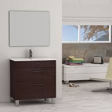 designer bathroom vanity eviva cup 31 5 wenge brown modern bathroom vanity with