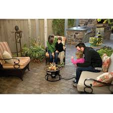 camp chef redwood portable propane fire pit u2014 19in diameter www