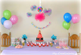 how to decorate birthday party at home at home birthday party decoration ideas for kids youtube cool avec