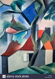 Landscape With Houses by Landscape With Houses U0027 1920s Artist Andre Lhote Stock Photo