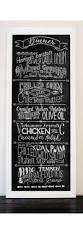 Home Menu Board Design Local Coffee Shop Chalkboard Menu Almost Too Neat