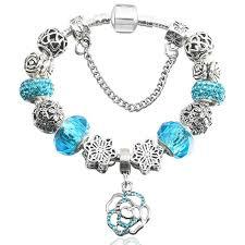 glass beads pandora bracelet images Glass beads charm bracelet designer inspired with crystals and jpg