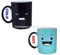 Types Of Coffee Mugs Heat Sensitive Color Changing Mugs Heat Sensitive Color Changing