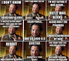 Giorgio A Tsoukalos Meme - ancient aliens host recalls his own ufo story openminds tv