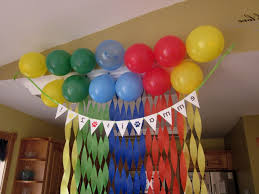 simple birthday decoration images at home archives decorating of