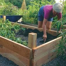 Raised Gardens For Beginners - raised garden beds on wheels raised garden beds vegetables