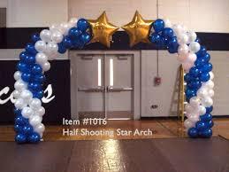 balloon arches balloon arches 1016 half shooting arch up with balloons