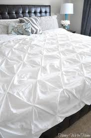guest bedroom update with pintuck duvet honey we u0027re home