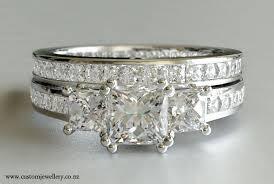 wedding rings nz princess diamond engagement ring three new zealand