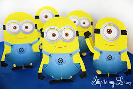 minion party ideas free printables skip to my lou