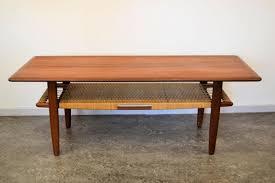 Teak Coffee Table Teak Coffee Table By Kurt østervig For Jason Møbler For Sale At Pamono