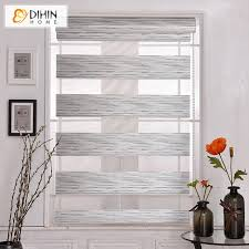 Easy Blackout Curtains Dihin Home Modern Silver Color Blackout Curtains Layer