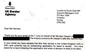 support ran bureau harriet harman helped of labour donor whose visa ran out eight