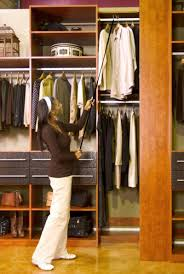 modern dressing room with closets to go master walk in closet