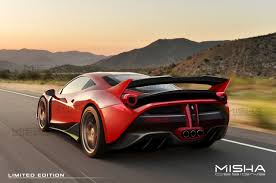 ferrari 458 back dub magazine misha designs fxx k style body kit for ferrari 458